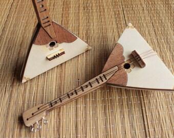 Balalaika - TOY miniature musical instrument - present