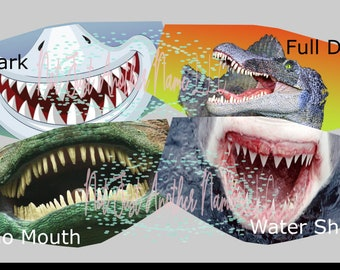 Photo Props Sea Ocean Shark Themed Costumes Party Baby Little Shark Masks Cute Shark Masks 15pcs Birthday Party Halloween Shark Masks Kids Costume Masks for Boys Girls Baby Birthday Party Favors