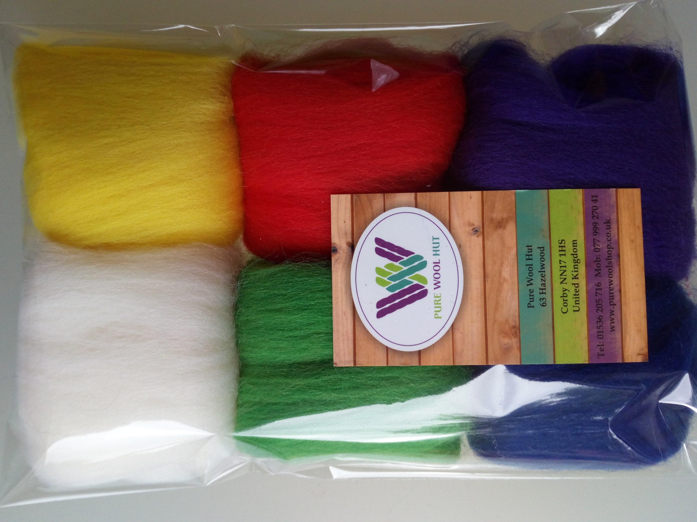 Bottle Green* 100/% Merino Wool Roving Tops for Needle and WetFelting 50 g