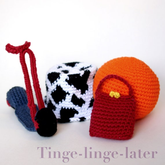 Favorite Things Crochet Pattern Inspired By Teletubbies Etsy