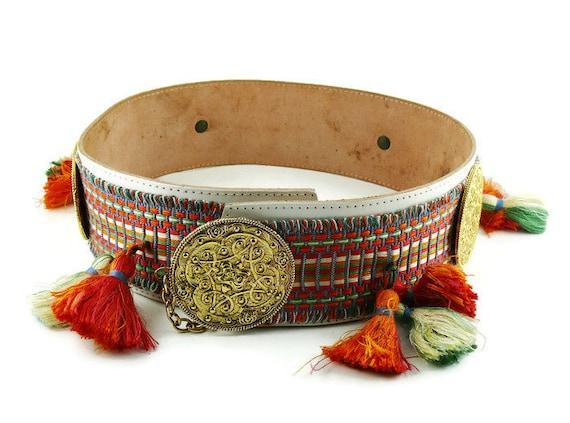 EDOUARD RAMBAUD * Vintage Oriental Belt