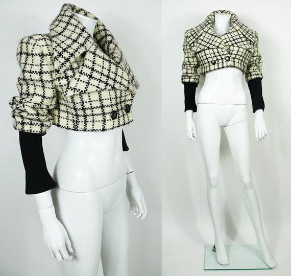 KARL LAGERFELD * Vintage Cropped Jacket