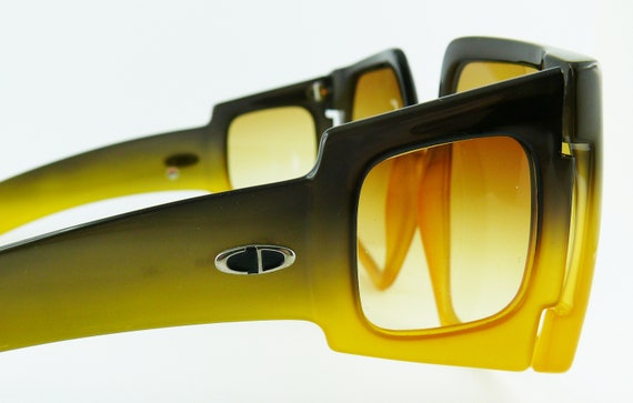 CHRISTIAN DIOR * Vintage Rare Space Age Oversized… - image 5