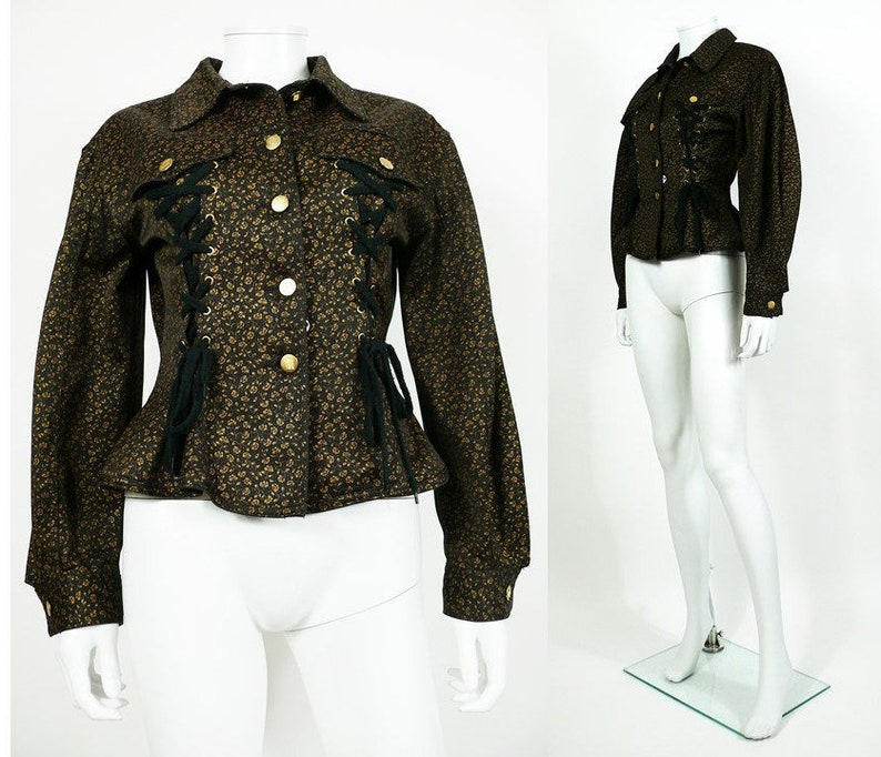 a9f8882fa3152 JEAN PAUL GAULTIER Vintage Iconic Corset Style Jacket with