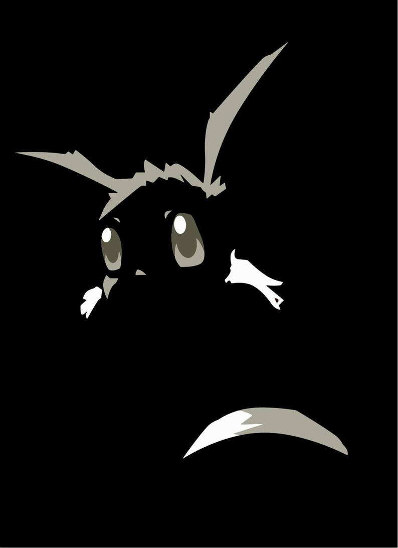 SHINY Eevee Shadow T-Shirt image 0