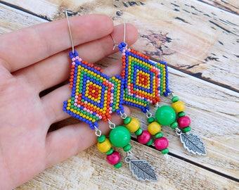 Boho earrings, hippie earrings, boho jewelry