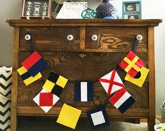 Custom Nautical Flag Banner