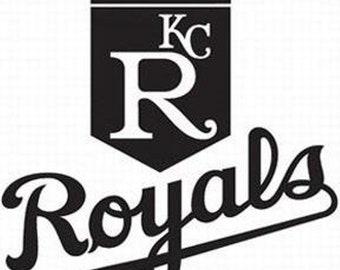 Kansas City Royals vinyl car decal yeti decal tumbler decal laptop decal window decal - free shipping
