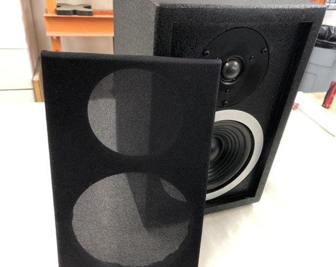"SR6.5B Single 6.5"" woofer bookshelf speaker plans - 2 way"