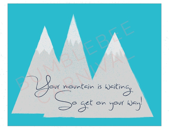 Dr Seuss Your Mountains Is Waiting So Get On Your Etsy