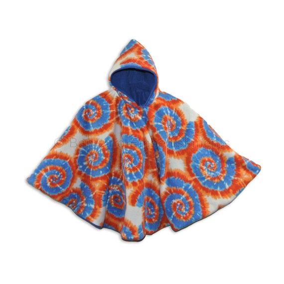 Poncho Carseat Poncho Ready to Ship Etsy Best Seller! Blue Tie Dye Car Seat Poncho
