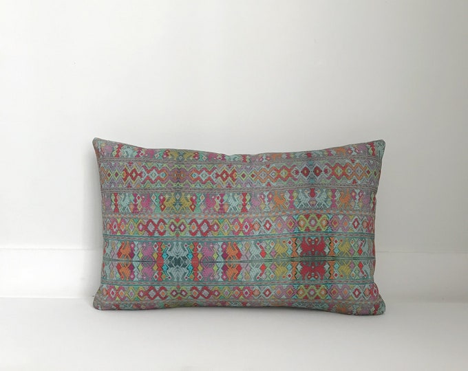 Outdoor Pillows, Pillow cover, Outdoor Boho Pillow, Outdoor Pillow Cushion, Bohemian, Boho, Outdoor Guatemalan Inspired