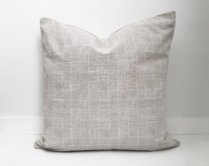 Block Print Pillow, Designer, Boho Pillow