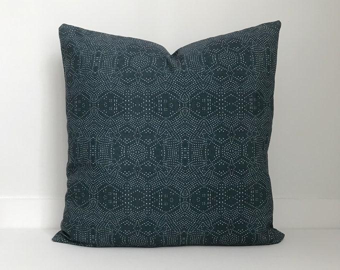 Outdoor Pillows, Pillow cover, Outdoor Boho Pillow, Outdoor Pillow Cushion, Bohemian, Boho, Outdoor Mudcloth Pillow, Batik Outdoor Pillow