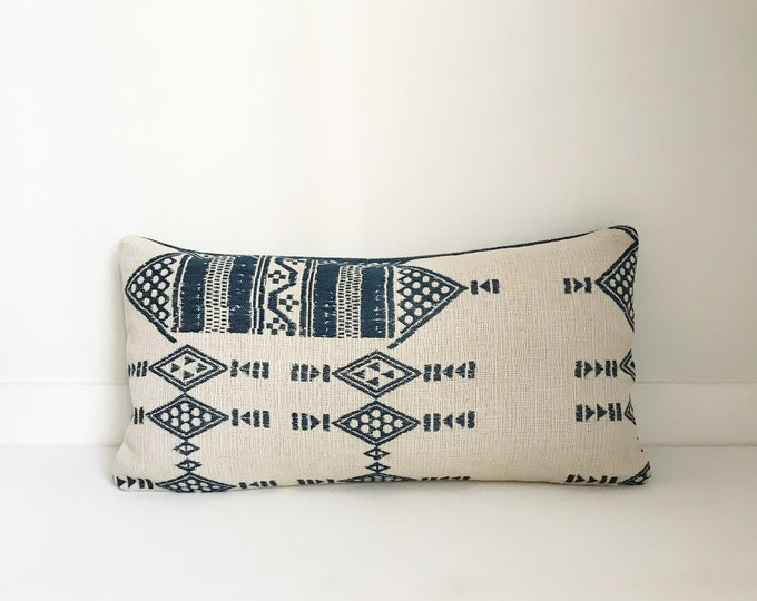 Indoor/Outdoor African Tribal Pillow Covers, Boho Pillow