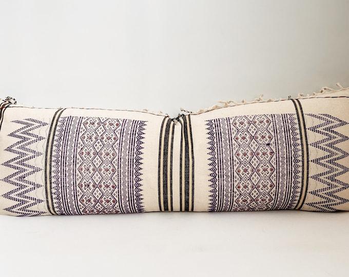 Cotton Hmong Pillow Cover, Modern Farmhouse, Boho