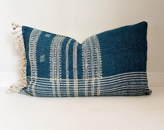 Wool Pillow Cover, Teal, Blue, Boho Pillow, Modern Farmhouse