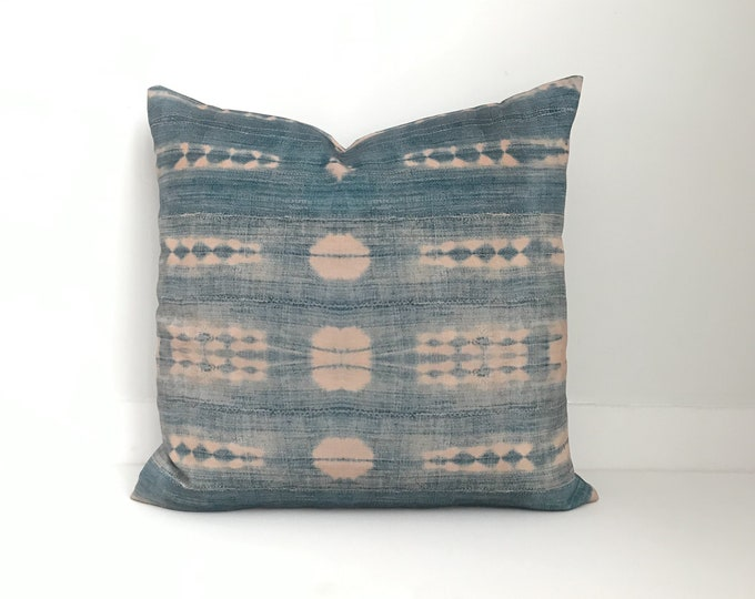 Outdoor Pillows, Pillow cover, Outdoor Boho Pillow, Outdoor Pillow Cushion, Bohemian, Boho, Outdoor Indigo Pillow, Outdoor Mudcloth Pillow