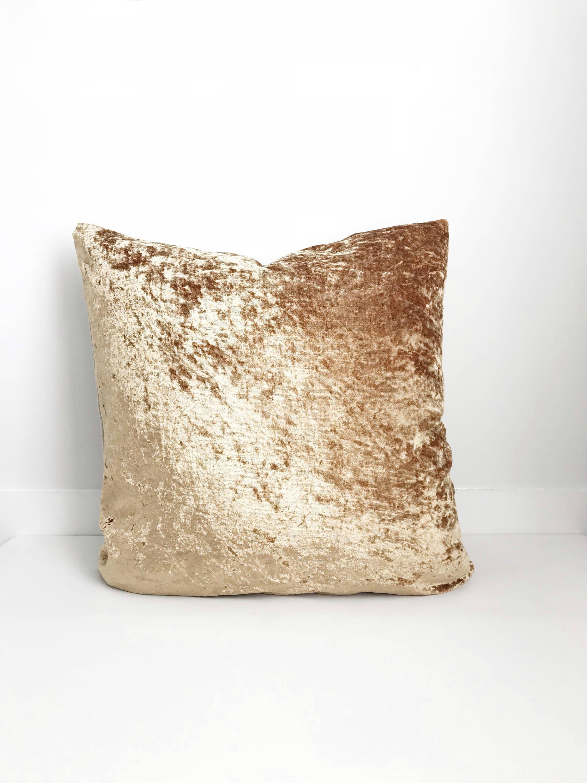 Boho Pillow Velvet Pillow Gold Pillow Cover Pillow Covers