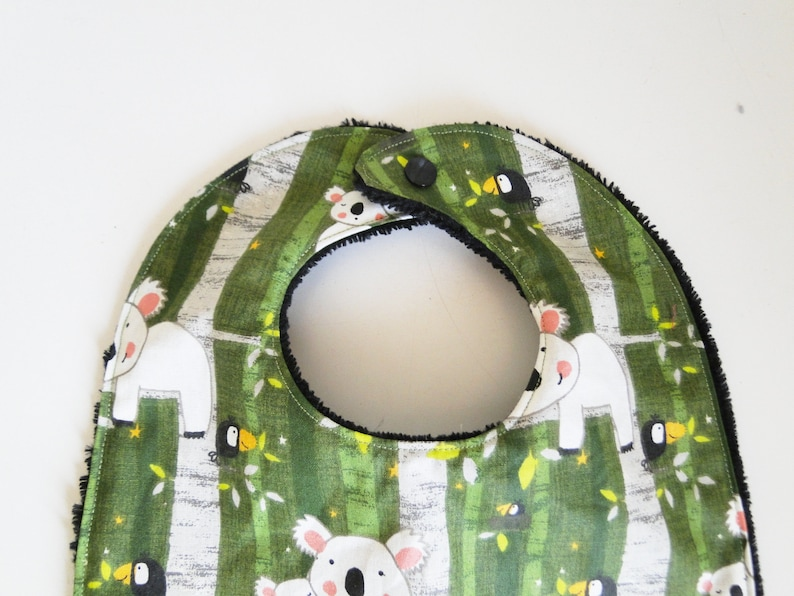 Large bib diego in cotton and sponge 12-24 months