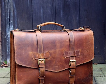 Men Leather Bag Etsy