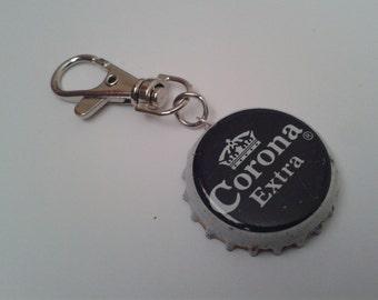Corona Bottlecap Keyring