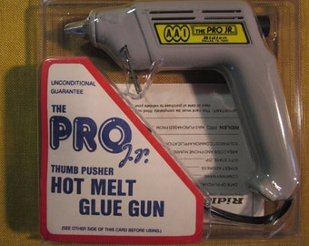 Ridlen Pro Jr. hot glue gun 40W, 380 degrees, made in USA,new in package,standing