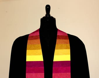 "Clergy Stole, Shade #184, Pastor Stole, Minister Stole, 54"" Length, Pastor Gift, Vestments, Church"