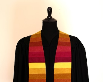 "Clergy Stole, Shade #182, Pastor Stole, Minister Stole, 54"" Length, Pastor Gift, Vestments, Church"