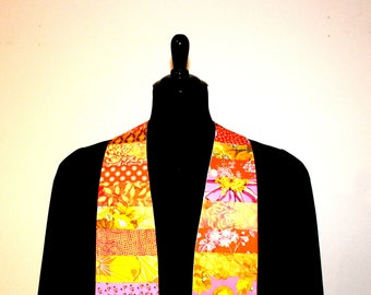 "Clergy Stole, Joyful Golden #208, Pastor Stole, Minister Stole, 54"" Length, Pastor Gift, Vestments, Church"