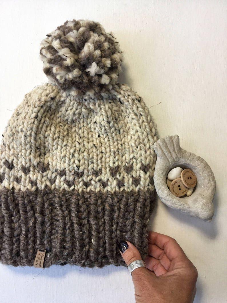 e1977a340cc The ELLIOT Winter Ski Hat slightly slouchy beanie Chunky wool