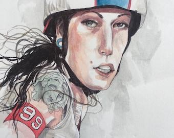 ORIGINAL Roller Derby Girl