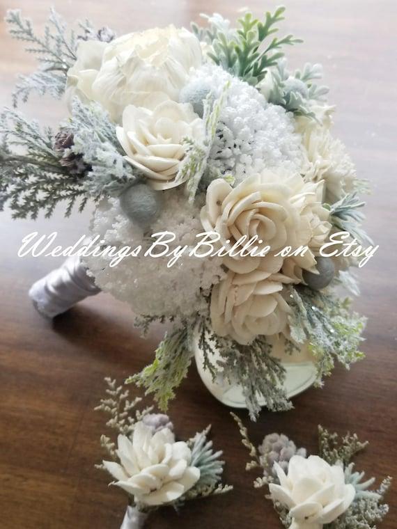 Sola winter white wedding bouquet winter wedding flowers mightylinksfo