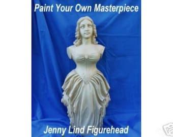 U-Paint Jenny Lind Figurehead