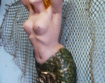 Large Mermaid Ships Figurehead