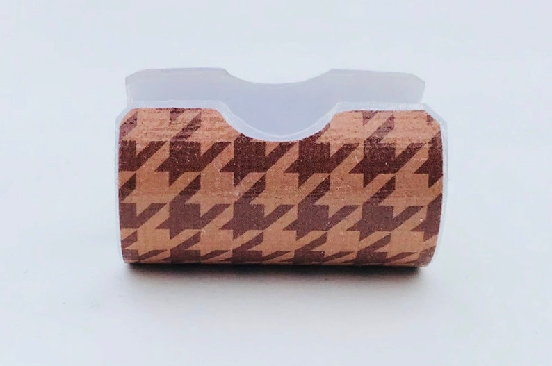 Brown Houndstooth HME Cover