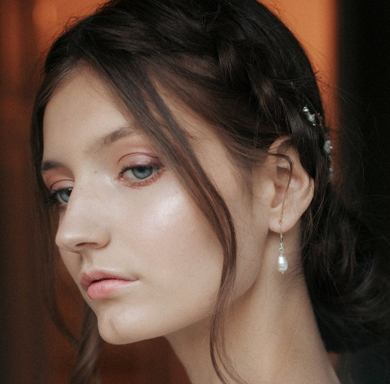 Dina hair vine Hair Wreath Gold Floral Hairpiece FREE SHIPPING Wedding Hair Vine Bridal Hairpiece