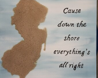 Bruce Springsteen inspired NJ with quote -