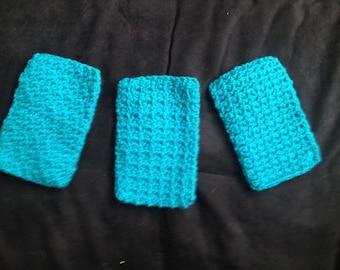 Crocheted Eye Glass Cases - Set of 3