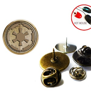 Star wars tie pin Picture under the glass star wars tie clip star wars Lapel Pin