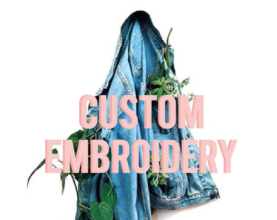 Custom Embroidered Jacket