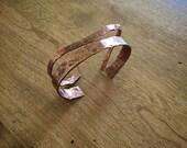 Copper Bangle Bracelet Se...
