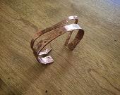 Copper Bangle Bracelet Set