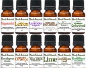 Miracle Botanicals Advanced Essential Oil Intro Set - 100 Pure Essential Oils (12) 10ml Free US Shipping