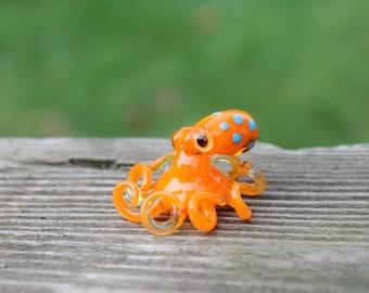 Small Kraken Glass Octopus glass figurine Octopus