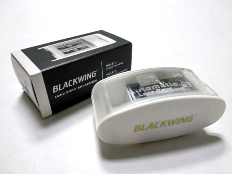 Blackwing White Long Point Sharpener