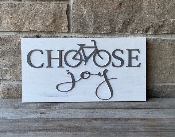 Choose Joy Wood Wall Hanging, Ready to Ship