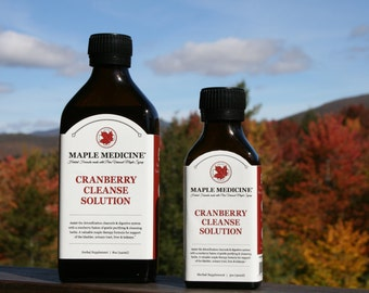Cranberry Cleanse Solution