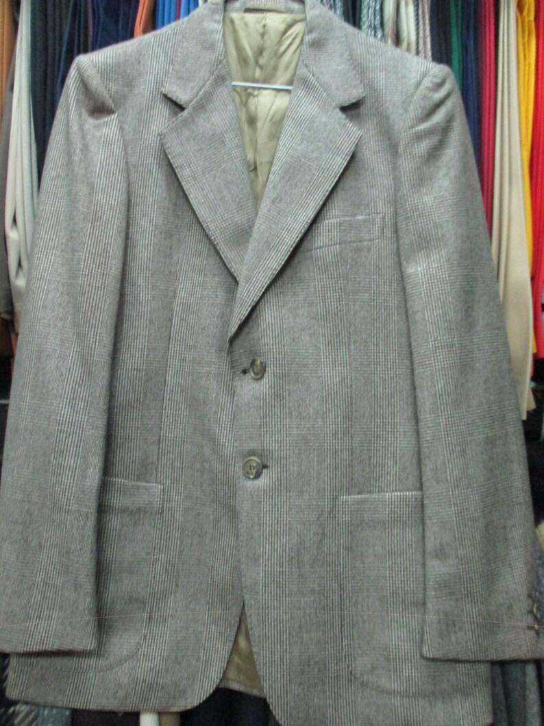 87db4e59106c Giacca anni 70 principe di Galles.Pura lana vergine.Tg.L 70s