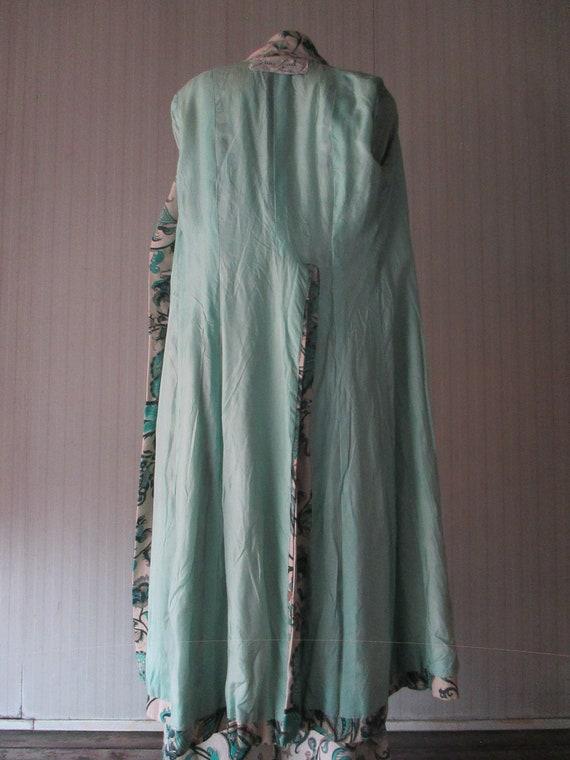 Original 60s damask pants suit/Jane Lend-Paris/Co… - image 7